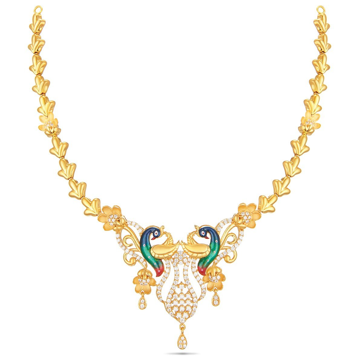 Buy Gold Necklace For Women Online Thangamayil Jewellery