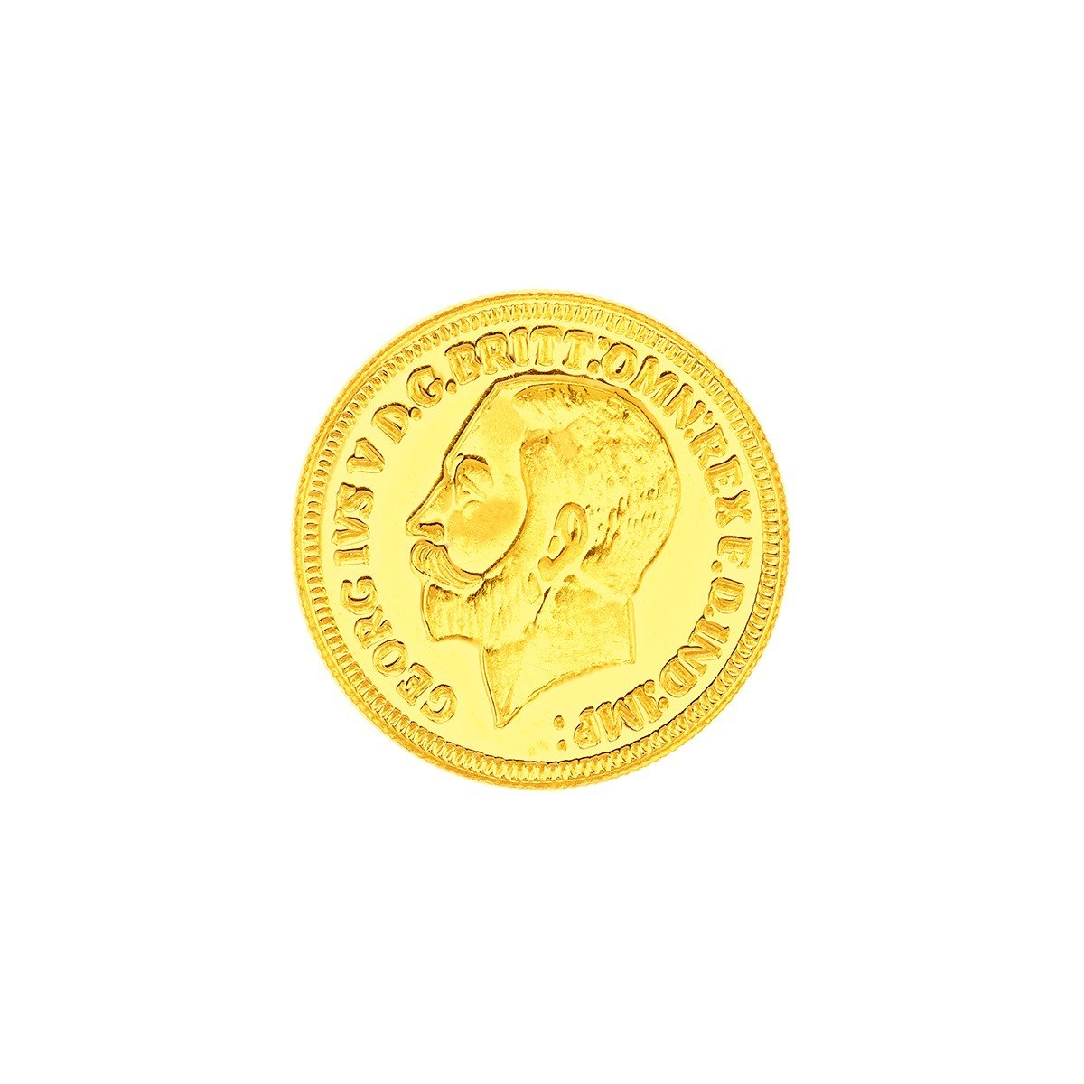 1 Gram 22 Carat King George Gold Coin