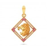 Lion Gold Pendant